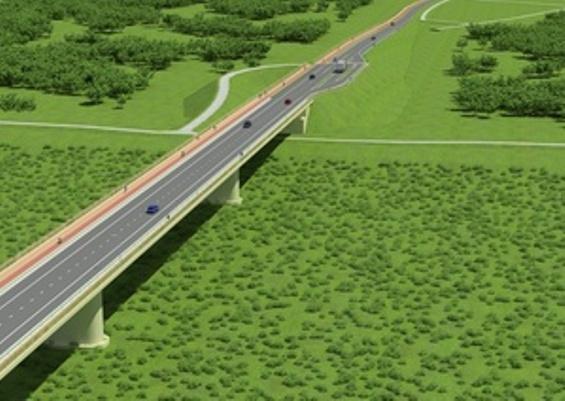 Wizualizacja mostu Kamień Solec
