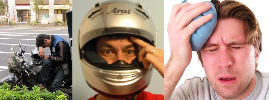 6 patentów na ból głowy i szyi na motocyklu, w trasie