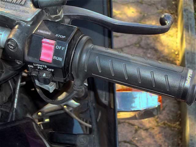 podgrzewane manetki daytona już na motocyklu