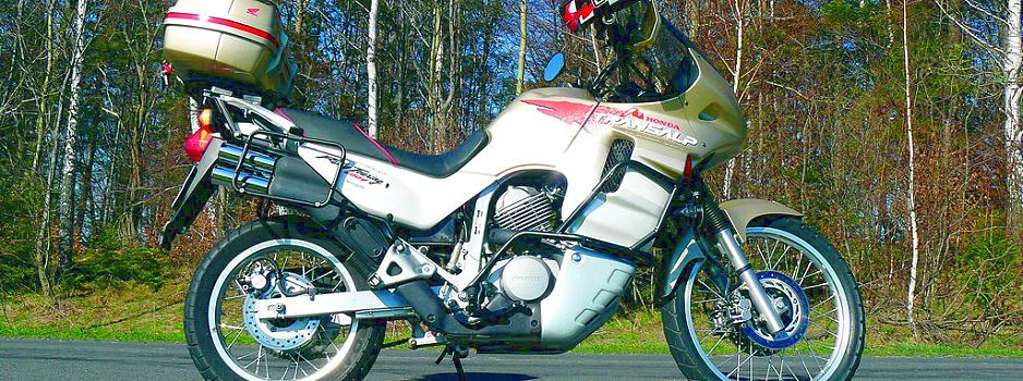 Honda Transalp XL600V test