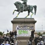 Protest francuskich motocyklistów