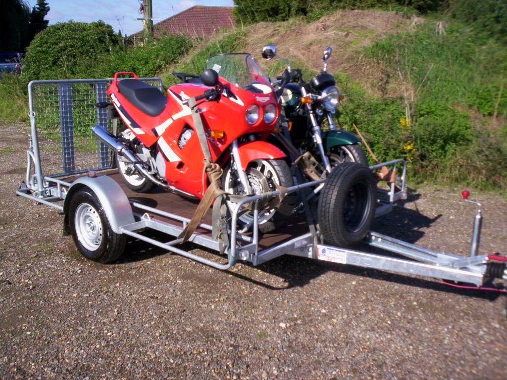 jak przewozić motocykl