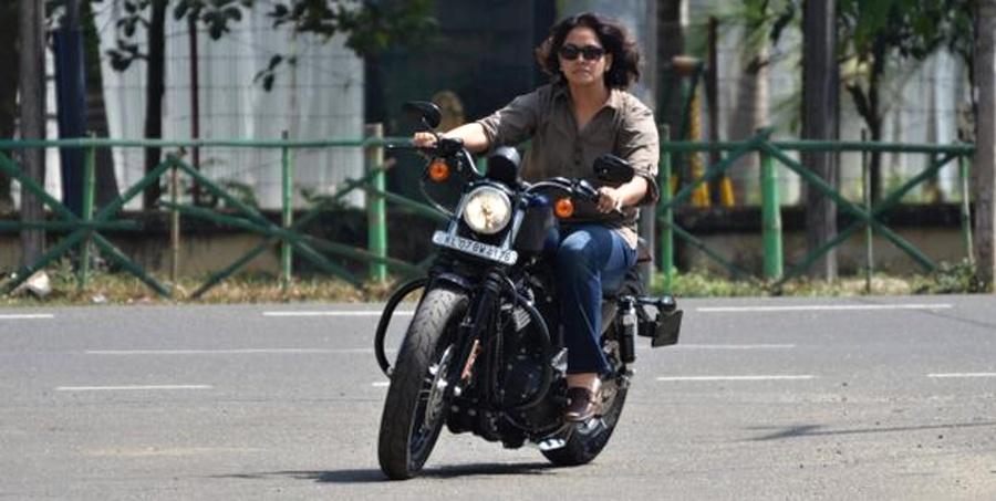 Sangeeta Vinodkumar, Pierwsza Dama indyjskiego motocyklizmu