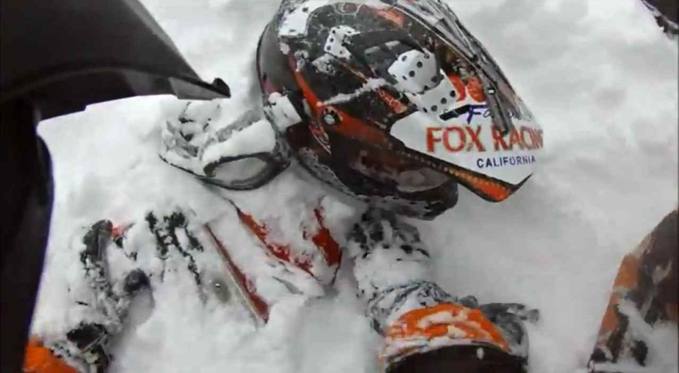 Skutery śnieżne mogą być niebezpieczne