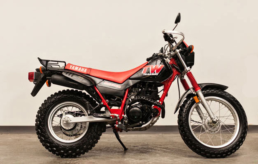 Yamaha TW 200 Bruce'a Willisa