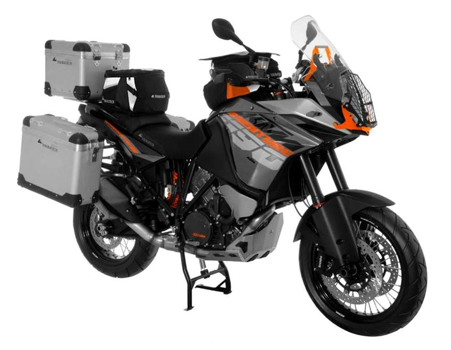 KTM 1190 Adventure z akcesoriami Touratech