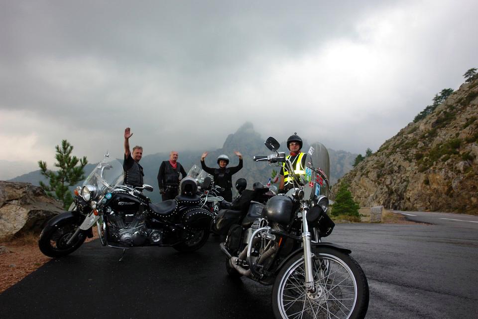 Motocyklowa wyprawa cruiserami w Alpy