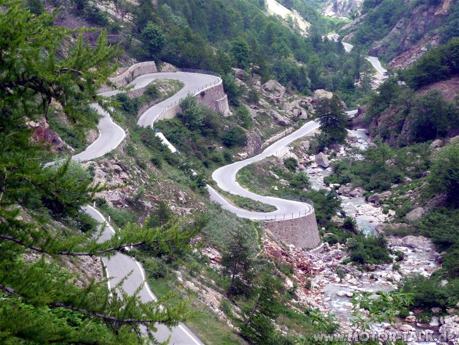 Trasy motocyklowe: Colle della Lombarda