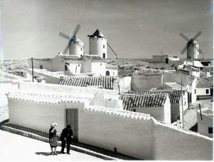 Słynne wiatraki z La Manchy