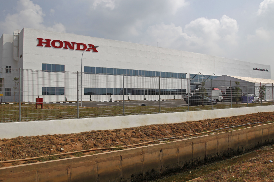 Fabryka Motocykli Honda w Malezji