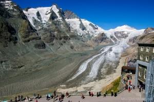 Grossglockner, najwyższy szczyt Alp w Austrii