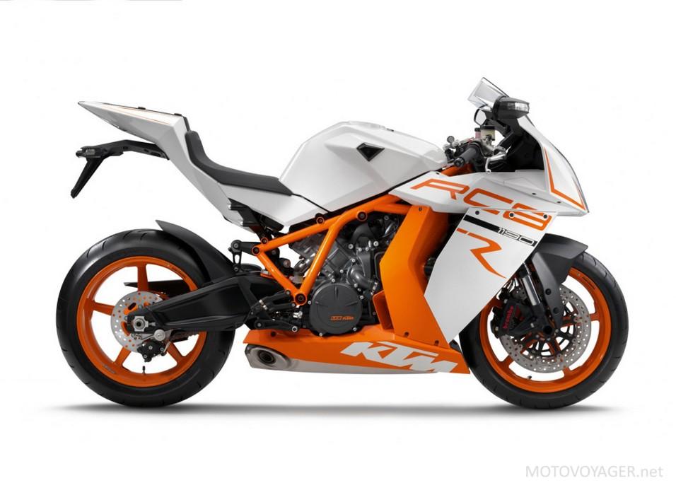 KTM RC8R. Prawdopodobnie na nim będą wzorowane małe motocykle sportowe