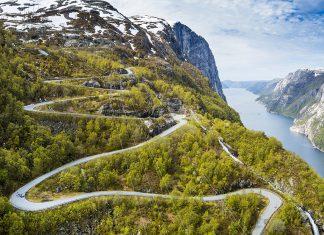 Lysebotnvegen Norwegia