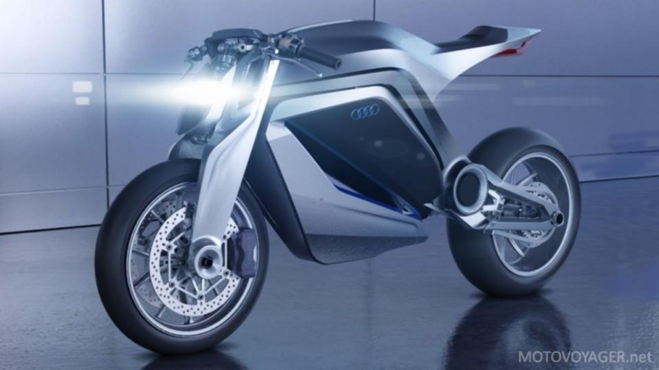 Motocykl Audi