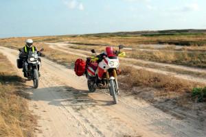 Na Arbackiej jest wiele równoległych dróg. Wszystkie jednakowo piaszczyste i wyboiste. Zęby bolą