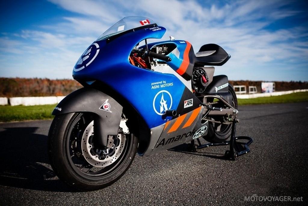 Ten motocykl elektryczny wystartuje w wyścigu Pikes Peak