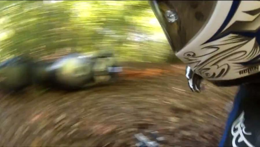 Wypadki motocyklowe – głupia i szczęśliwa gleba świeżaka