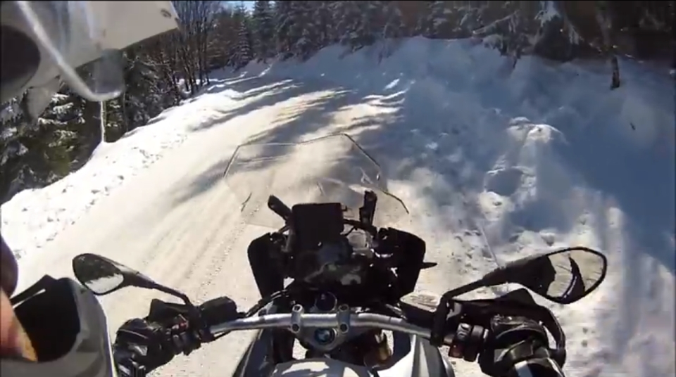 Zimowy test BMW R1200GS 2013