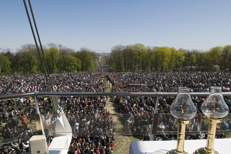 Zlot w Częstochowie to impreza o długiej tradycji