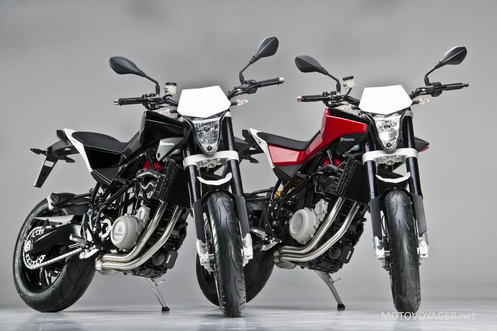 Husqvarna Nuda 900 i Nuda 900R