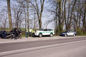 Litewscy policjanci przeprowadzali kontrole wraz z Polakami