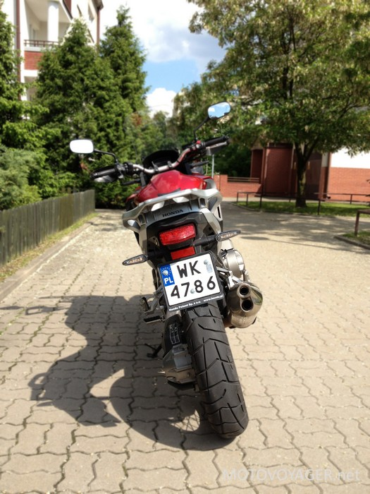 Motocykl wbrew pozorom jest bardzo poręczny