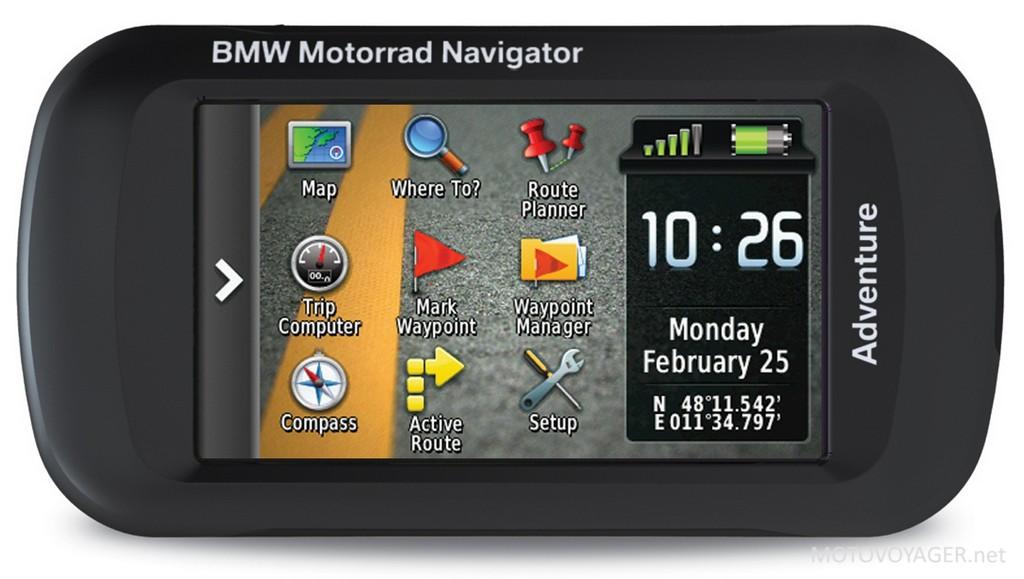 Navigator Adventure, nowa nawigacja motocyklowa BMW