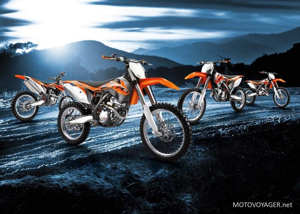 Nowa linia KTM EXC 2014