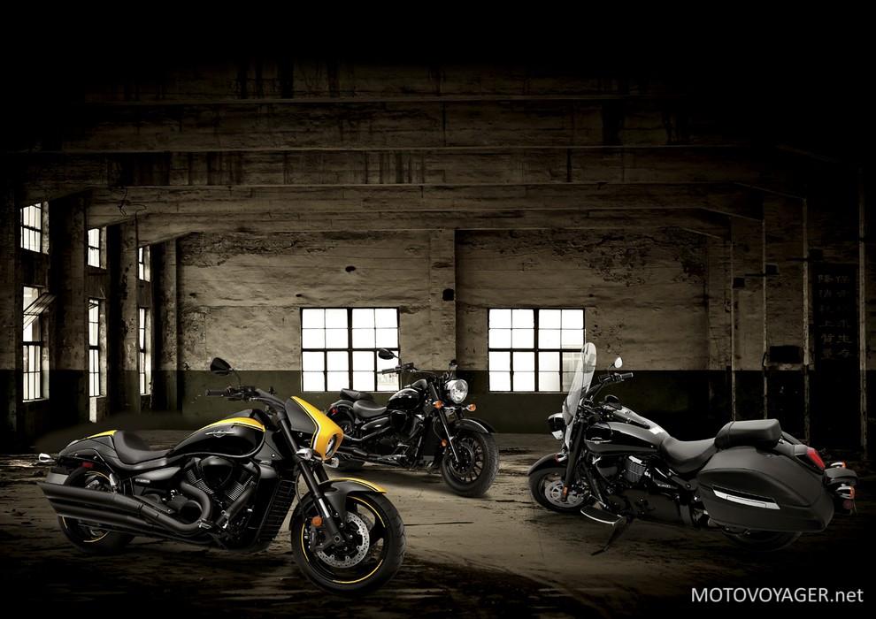 Nowa linia motocykli Suzuki – Boss