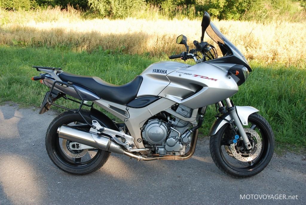 Yamaha TDM900 test