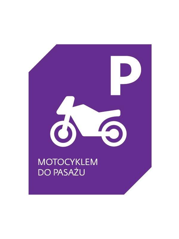 Ten znak zastąpił zakaz wjazdu motocykli