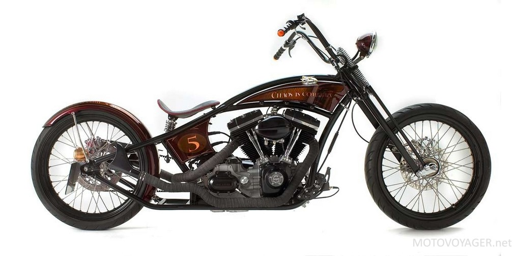 Harley-Davidson FXD jako Othello (1)