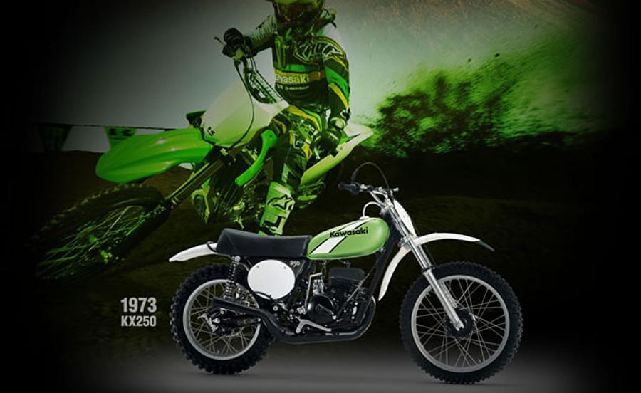 Kawasaki świętuje 40-lecie serii KX