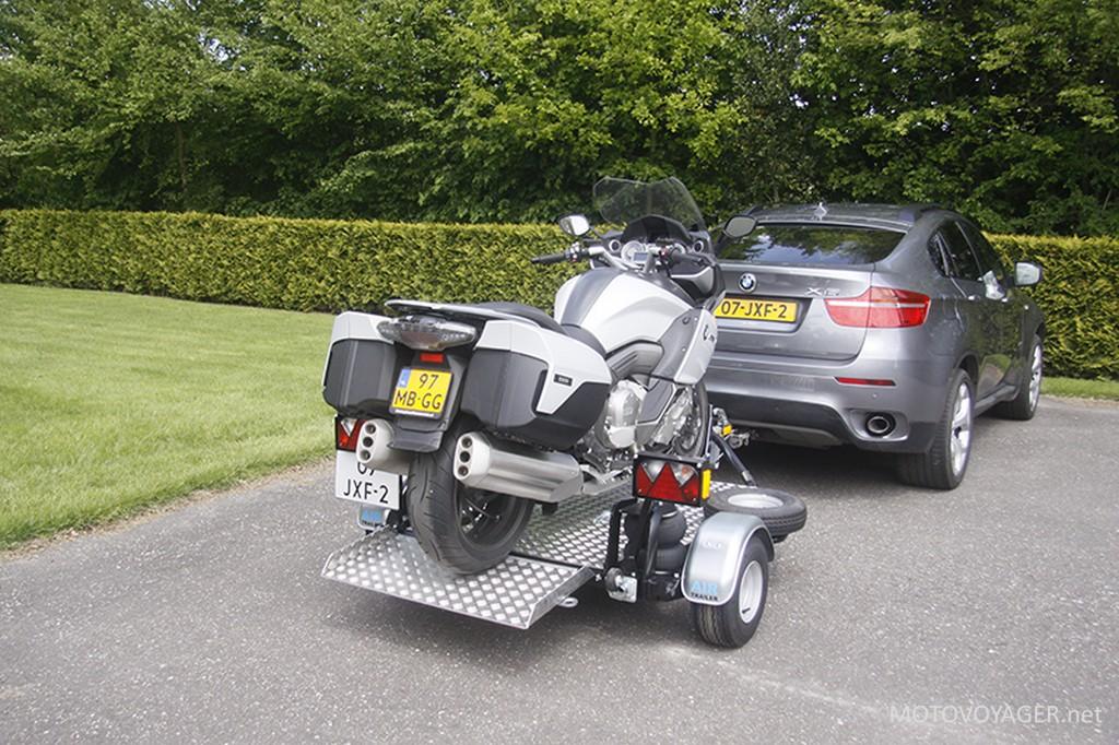Przyczepa motocyklowa AirTrailer