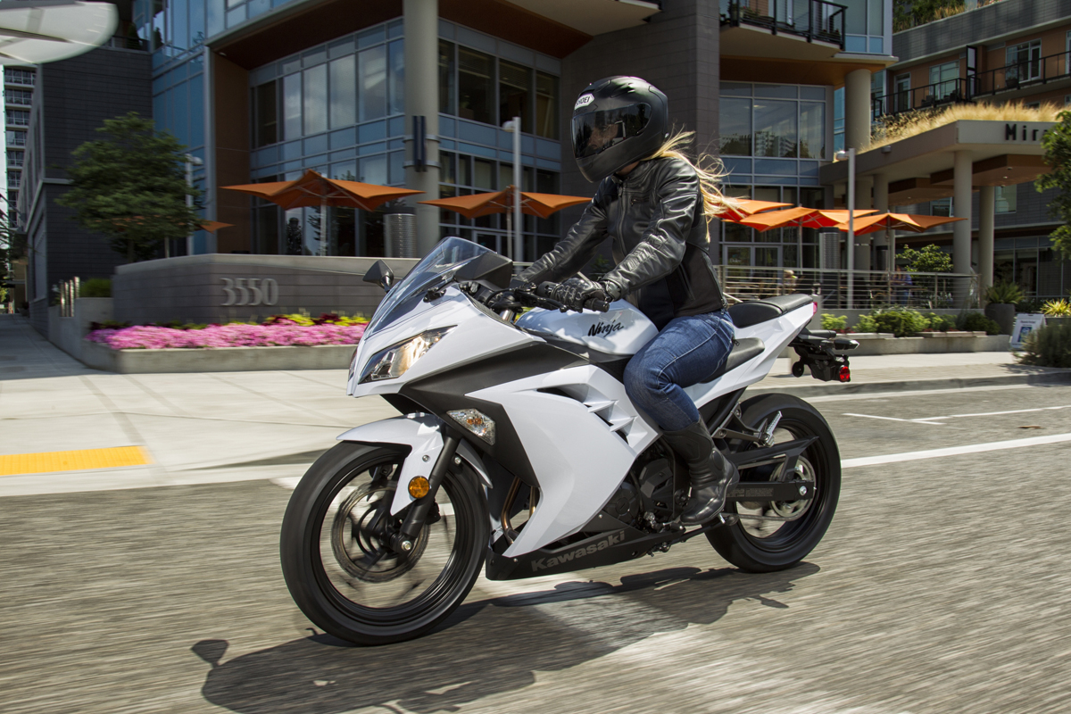 Kawasaki Ninja  znów do serwisu
