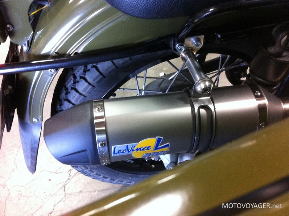 Motocykle Ural otrzymają wydech LeoVince (1)
