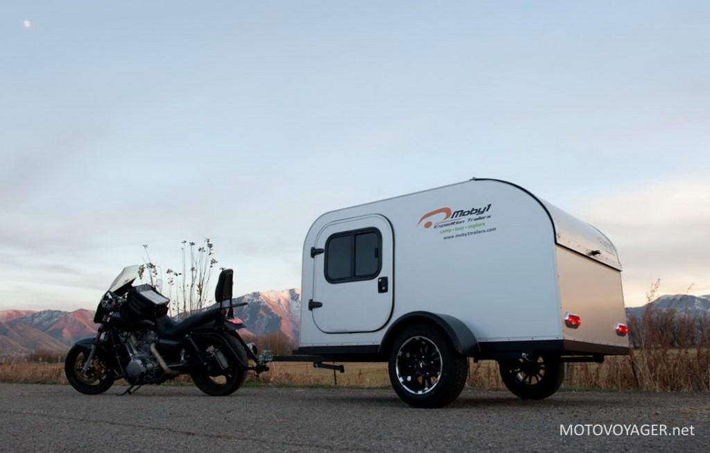 Mototrailer motocyklowa przyczepka wyprawowa
