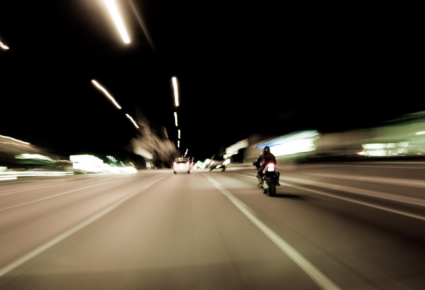 Pechowy francuski kierowca uwiecznił wykroczenia kamerą
