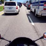 Skoro się nie przeciskasz to po co ci motocykl