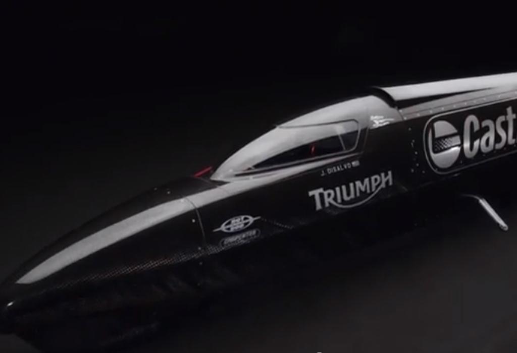 Triumph Castrol Rocket