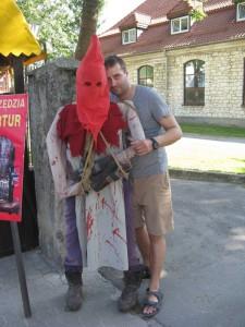 Dwie straszne postacie w Kazimierzu