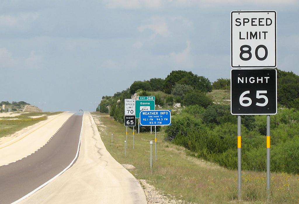 Utah zwiększa prędkość na autostradach