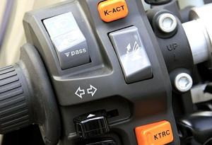 Kawasaki GTR 1400 test