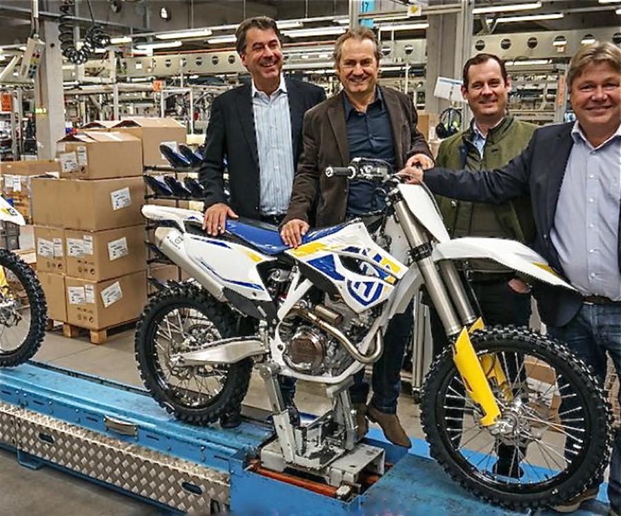 Ruszyła produkcja Husqvarny w Austrii