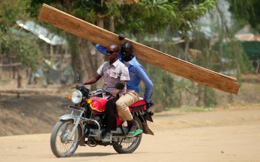 Sudan Południowy mówi motocyklom NIE