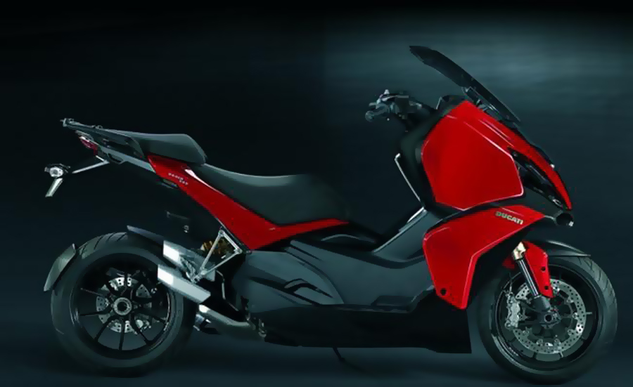 Maxiskuter Ducati