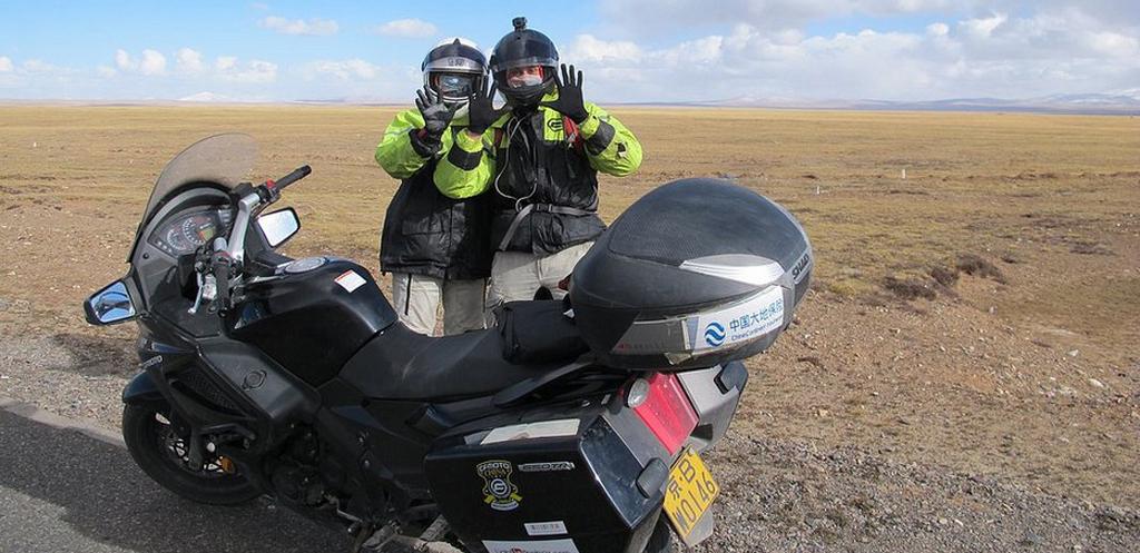 Motocyklowa wyprawa po Chinach