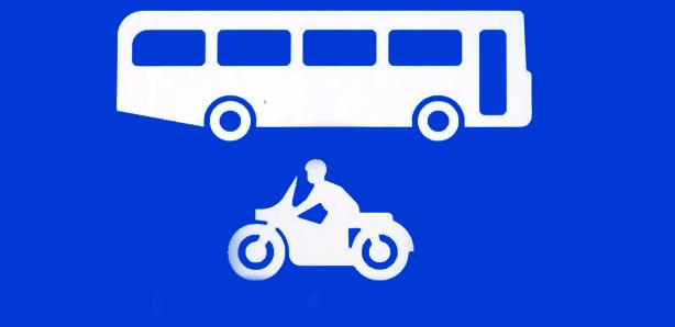 Motocykle na buspasach