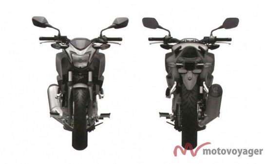Honda CBR300R Naked (1)