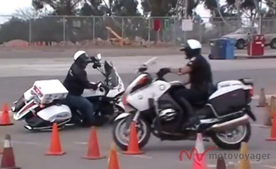 Victory vs BMW police bike